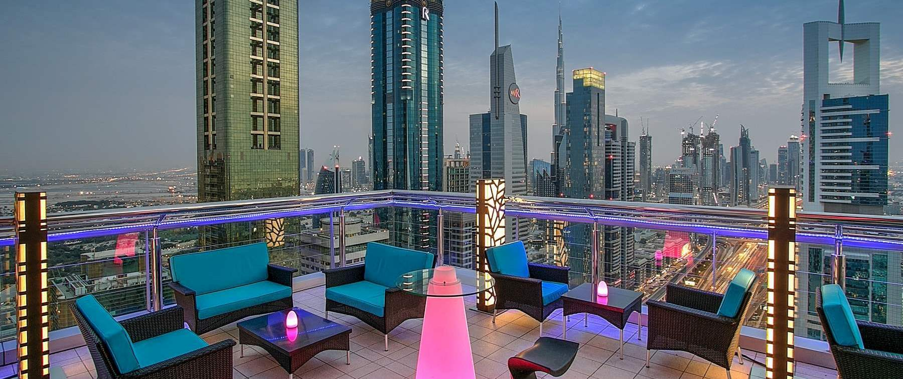 Open Air Terrace 155 Meters Above Ground